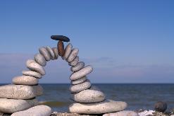 Brücke aus Steinen